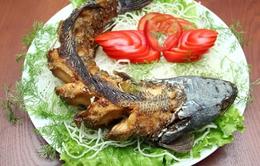 Thưởng thức cá tầm nướng hạt tiêu rừng - đặc sản Tây Nguyên