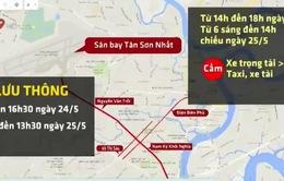 Cấm nhiều tuyến đường khi Tổng thống Obama thăm TP.HCM
