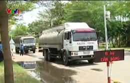 Gần 2.000 xe quá tải bị xử lý trong tháng 10