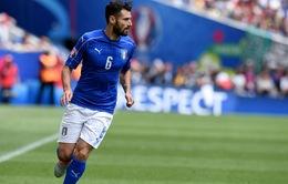 Italy mất trụ cột tuyến giữa trong cuộc tái đấu Tây Ban Nha