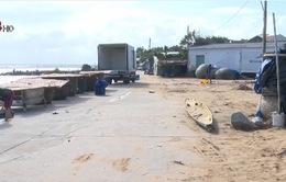 Phú Yên: Cảng cá hư hại nặng nề sau lũ