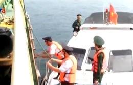 Biên phòng cửa khẩu cảng Dung Quất chủ động chống buôn lậu dịp cận Tết