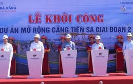 Khởi công dự án mở rộng cảng Tiên Sa