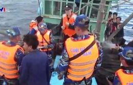 Kết thúc kiểm tra lần 2 liên hợp nghề cá Vịnh Bắc bộ năm 2016