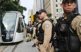 Brazil huy động 85.000 cảnh sát đảm bảo an ninh cho Olympic