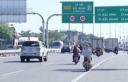 Giảm tốc độ trên Quốc lộ 1 đoạn Hà Nội - Bắc Giang