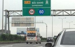 Cần giảm phí BOT cao tốc Hà Nội - Bắc Giang vì không đạt tiêu chuẩn