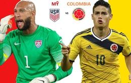 Tranh giải Ba Copa America 2016, Mỹ - Colombia: Chủ nhà có làm nên lịch sử?