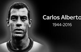Huyền thoại Carlos Alberto của ĐT Brazil qua đời