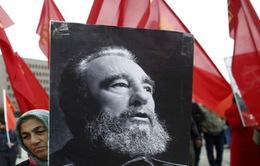 Cựu Chủ tịch Cuba Fidel Castro sống mãi trong lòng người dân thế giới