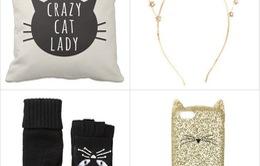 Những phụ kiện thời trang dành cho cô nàng yêu mèo