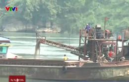 Tàu hút cát ảnh hưởng nghiêm trọng đến cuộc sống người dân Tuyên Quang