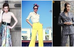 """""""Soi"""" gu thời trang sành điệu của bộ 3 HLV The Face Việt Nam"""