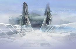 Cầu thủy tinh cao và dài nhất thế giới ở Trung Quốc