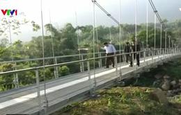 Người dân Lai Châu phấn khởi khi cầu treo Chu Va 6 đưa vào sử dụng