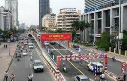 Hà Nội phân luồng giao thông phục vụ thi công cầu vượt Láng Hạ - Thái Hà