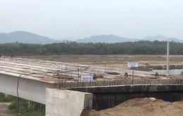 Quảng Nam: Sắp bàn giao mặt bằng 2 mố cầu Giao Thủy