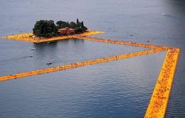 Độc đáo cầu nổi tại Italy