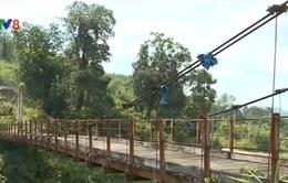 Quảng Nam: Gần 140 cầu treo hư hỏng cần xây dựng mới