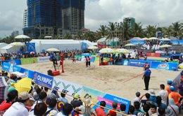 ABG 2016: ĐT nam và nữ cầu mây bãi biển Việt Nam đều giành chiến thắng trong trận mở màn