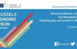 Khu vực sử dụng đồng Euro đối mặt nguy cơ suy yếu kinh tế
