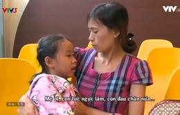 Hoàn cảnh đáng thương của gia đình em bé bị dị tật tim bẩm sinh