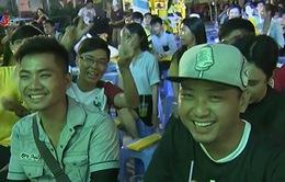 Không khí xem trận khai mạc EURO 2016 tại TP Hồ Chí Minh