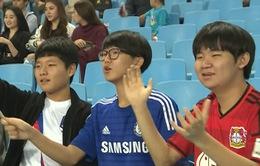 Tình cảm của CĐV Hàn Quốc dành cho Xuân Trường