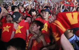 Niềm tin và tình yêu của các CĐV dành cho ĐT Việt Nam