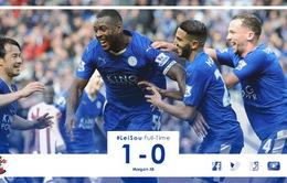 Hạ Southampton, Leicester City tiến bước dài trong cuộc đua vô địch