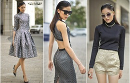 Chà Mi Next Top Model gợi cảm trong thiết kế tinh tế của Lý Giám Tiền