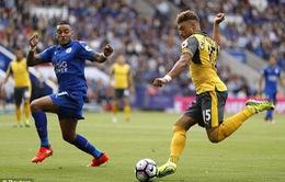 [KT] Vòng 2 NHA: Man City, Chelsea giành 3 điểm, Arsenal hòa Leicester, Liverpool thua bạc nhược