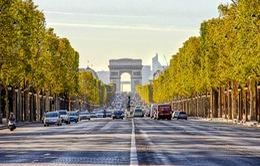 Hạn chế khói bụi tại Paris, Pháp cấm ô tô trên đại lộ Champs Elysees