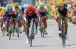 Chặng 7 giải xe đạp quốc tế VTV - Cúp Tôn Hoa Sen 2016: Võ Phú Trung tiếp tục giữ áo vàng!