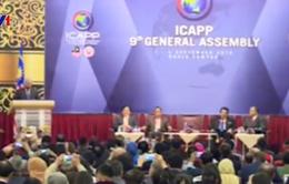 Đoàn Đảng Cộng sản Việt Nam dự Hội nghị các chính đảng châu Á