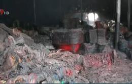 Bình Phước: Cháy kho chứa hàng gia dụng, thiệt hại khoảng 3 tỷ đồng