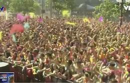 Đường chạy Colour Run tại Chile