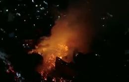 Brazil: Cháy lớn tại khu ổ chuột, phá hủy 120 ngôi nhà