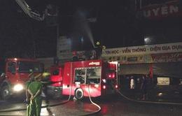 Quảng Trị: Cháy lớn tại siêu thị điện máy thiệt hại hàng chục tỷ đồng