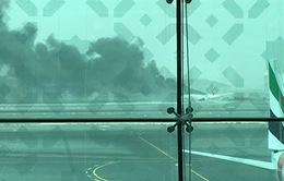 Sân bay Dubai hủy hơn 200 chuyến sau sự cố máy bay UAE
