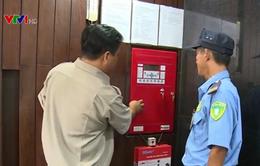 Cảnh sát PCCC TP.HCM ứng dụng hiệu quả hệ thống báo cháy nhanh