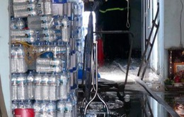 Phú Yên: Cháy cơ sở sản xuất rượu nằm trong khu dân cư