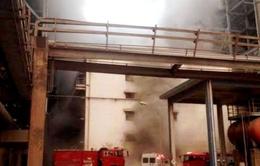 Cháy phòng nạp ắc quy Nhà máy nhiệt điện Cẩm Phả