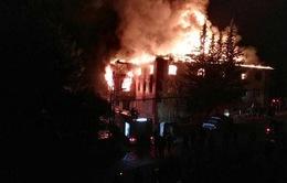 Cháy ký túc xá tại Thổ Nhĩ Kỳ, nhiều nữ sinh thiệt mạng
