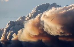 Cháy rừng nhấn chìm Đông Bắc Canada trong biển lửa