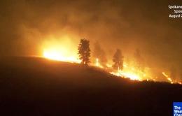 Bang Washington, Mỹ ban bố tình trạng cháy rừng