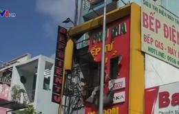 TP.HCM: Cháy cửa hàng, 4 người chết do chập điện