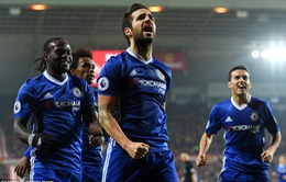 Vòng 16 Ngoại Hạng Anh: Chelsea thắng trận thứ 10 liên tiếp