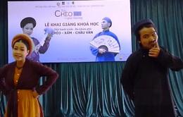 """""""Chèo 48 giờ"""" thu hút đông đảo giới trẻ Việt Nam"""