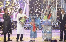 Mai Chi - Lê Giang giành giải quán quân Gương mặt thân quen nhí 2016